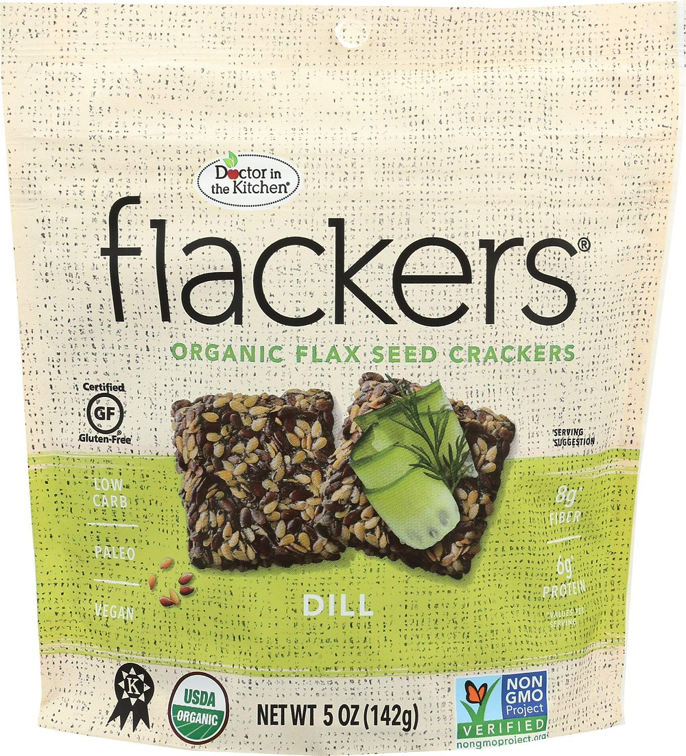 Flackers with flax are ketogenic crackers gluten free keto friendly