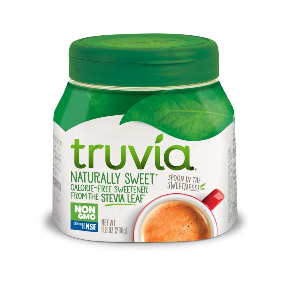 Keto friendly diabetic friendly sweetener stevia Truvia