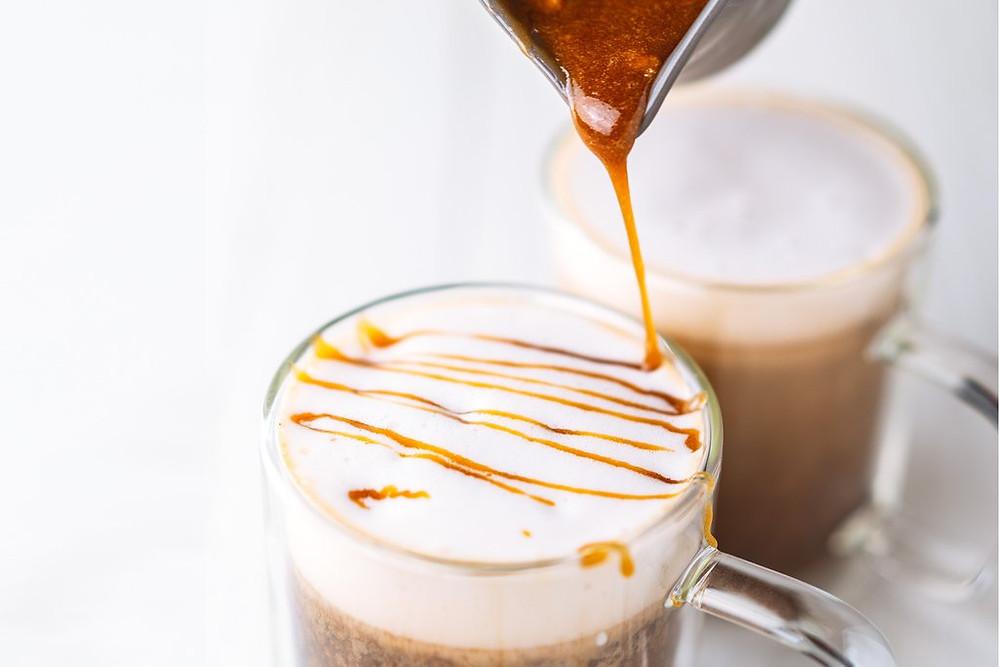 Keto Friendly Caramel Drizzle