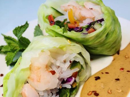 Keto Vietnamese Spring Rolls