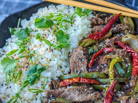 Keto Chinese Pepper Steak