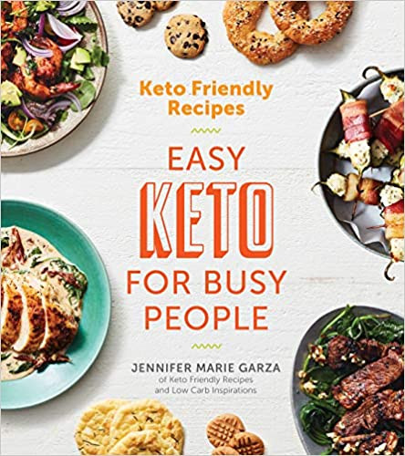 Jennifer Marie's New Book Easy Keto Recipe for busy people ketogenic diet friendly