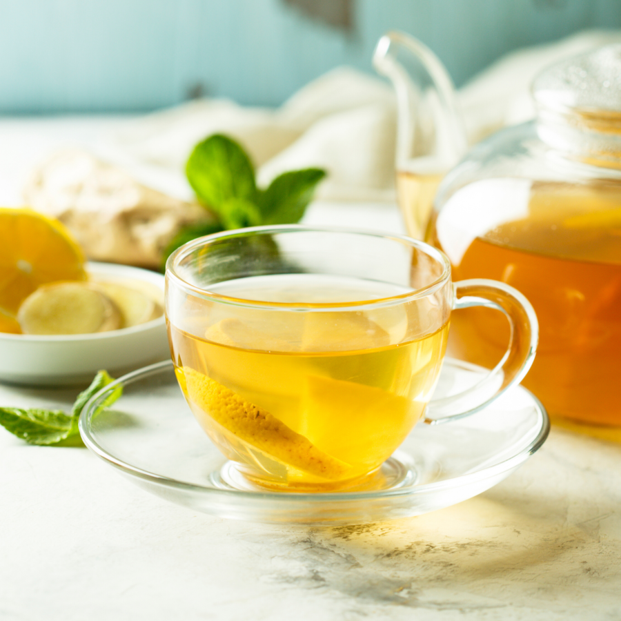 skinny syrup ketogenic lemon elderflower syrup Tea kosher vegan gluten free ketogenic