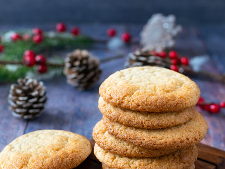 Keto Christmas Spice Cookies