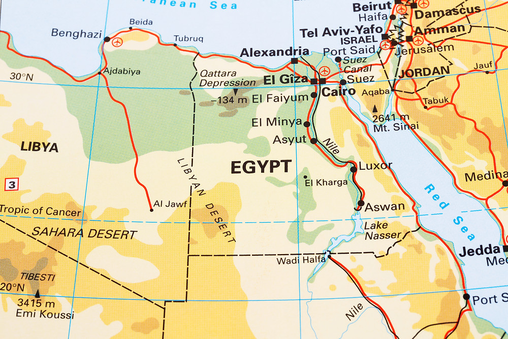 Evergreen Suez Canal Red Sea Egypt