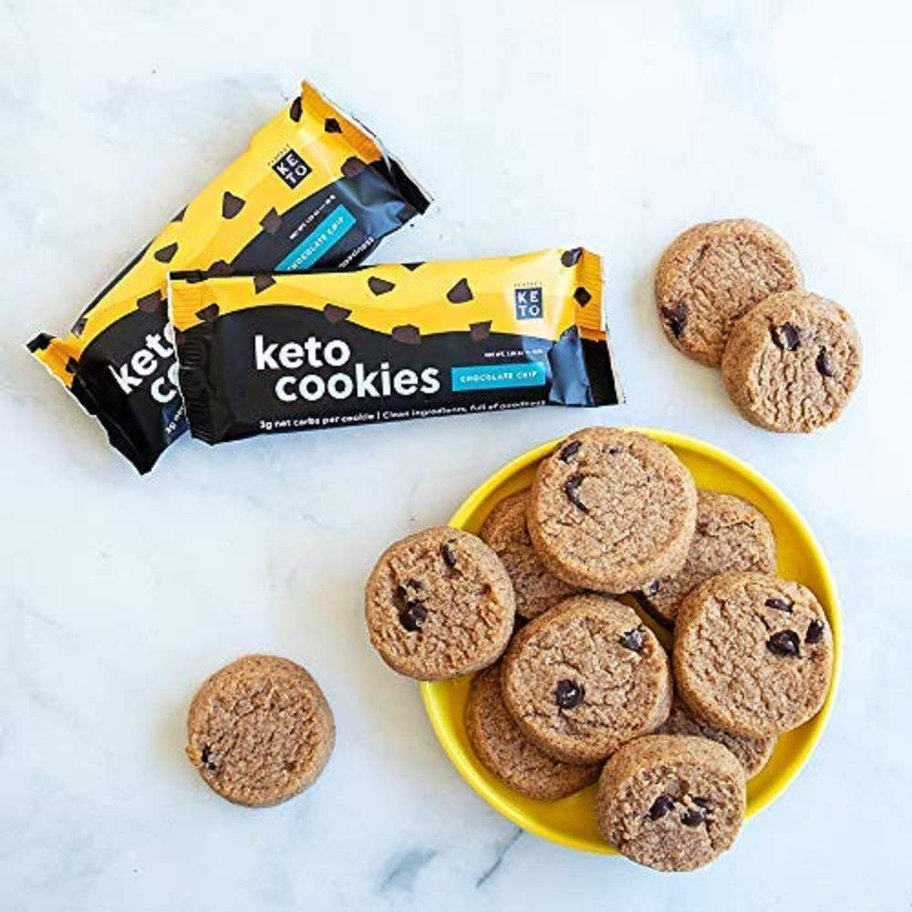 Keto cookies snacks and ketogenic dessert