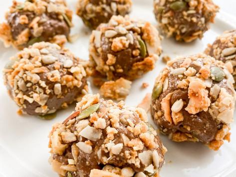Keto Peanut Butter Brownie Energy Balls
