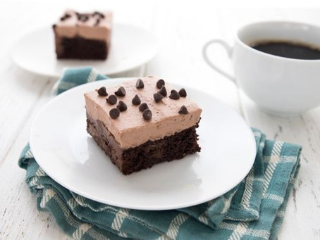 Keto Death By Chocolate Poke Cake