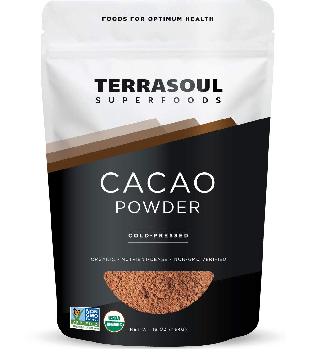 Keto friendly Chocolate Cacao powder superfood for keto fat bomb recipes by ketogenic recipes