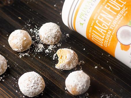 Golden Turmeric Keto Donut Holes Easy Recipe & Gluten-Free
