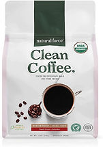 Healthy coffee free of  mycotoxins pesticides and chemicals
