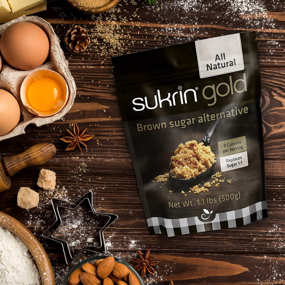 Healthy Life Selections recommends Sukrin Gold for ketogenic recipes