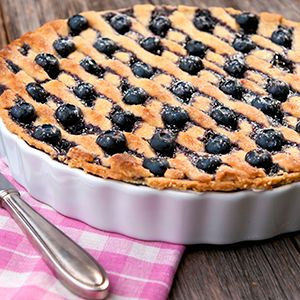 Blueberry Frangipane Tart keto gluten free ketogenic recipes baking blueberry dessert