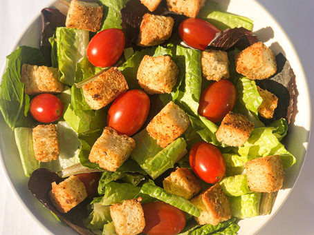 Low Carb, Keto Croutons