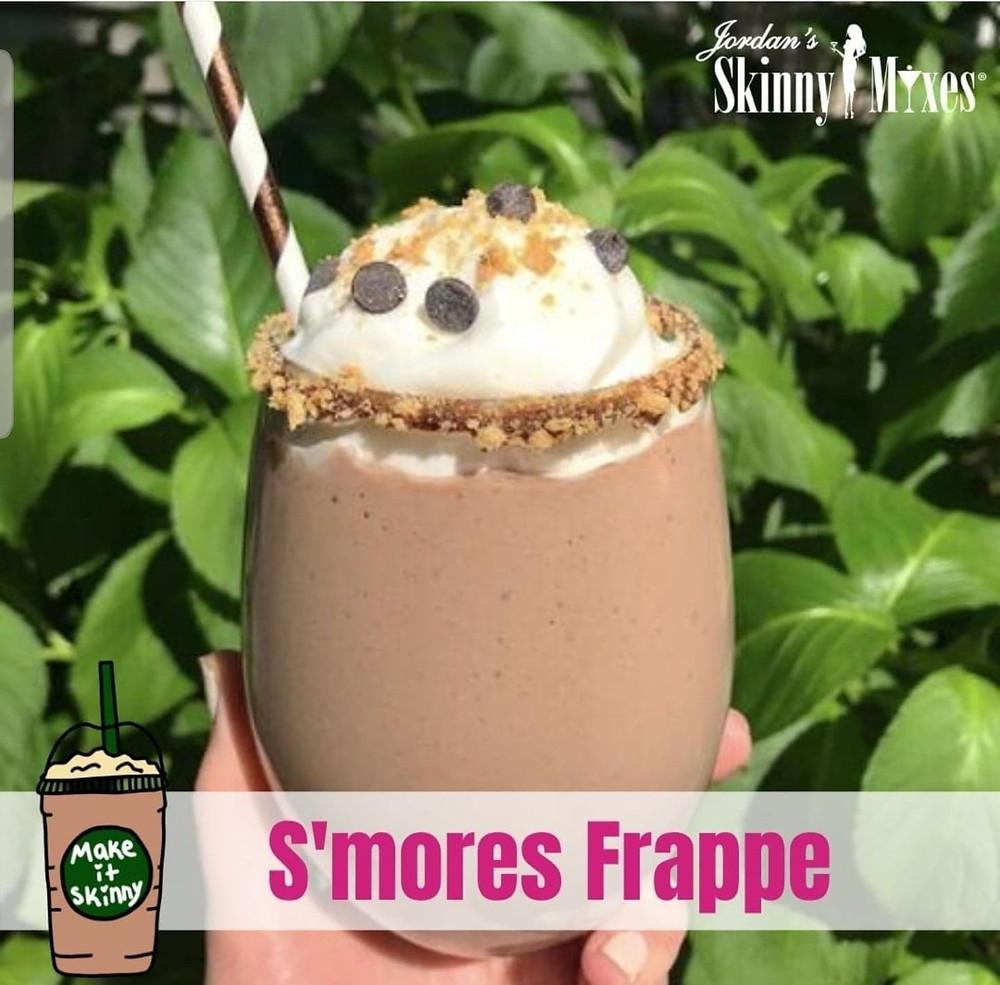 Starbucks copycat s'mores frappuchino keto friendly frozen beverages