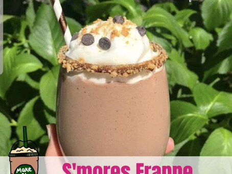 Keto S'mores Collagen Protein Frappe