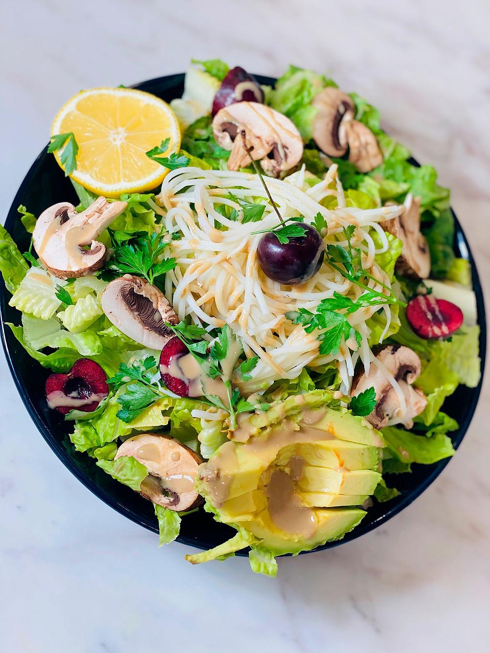 ketogenic pasta recipe vegan vegetarian healthy life selections website  by Marsha Merington