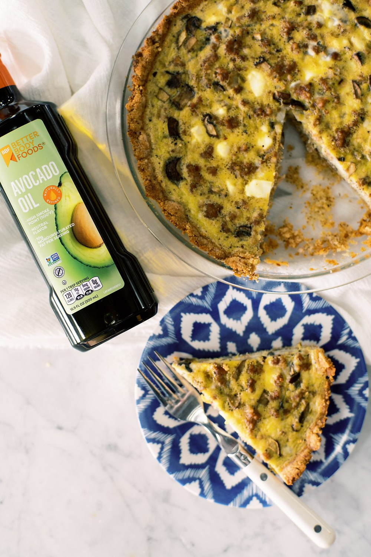 Gluten free grain free keto friendly breakfast quiche better body foods ketogenic recipes