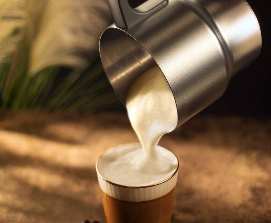 Starbucks Cold Foam Micro foam homemade barista milk frother for pumpkin spice latte copycat keto friendly pumpkin cold brew for ketogenic diets