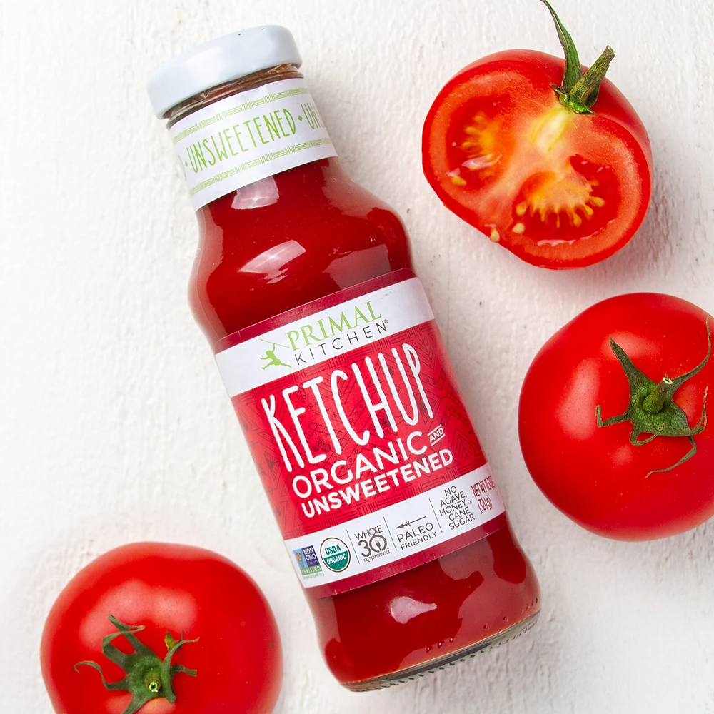 Keto Friendly Ketchup from Primal Kitchen Recommended By Healthy Life Selections