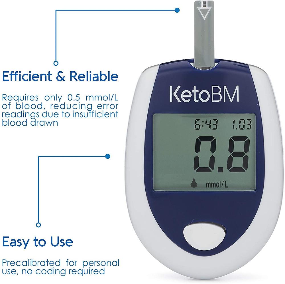 Ketone test kit ketone strips ketone meter for ketogenic diet keto and diabetic supplies for holiday gifts