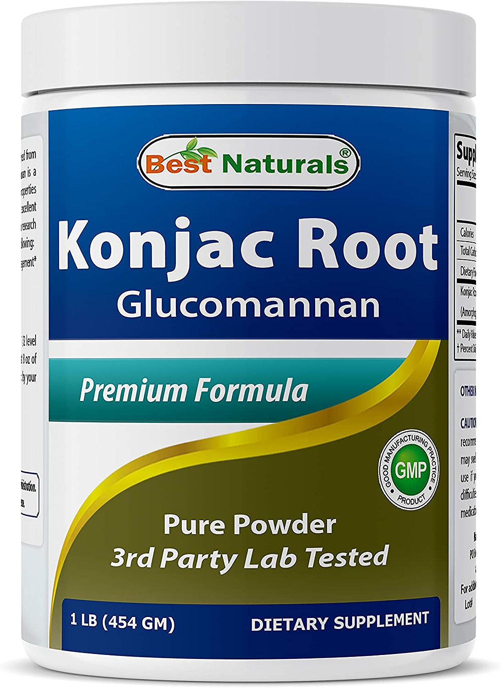 Glucomanman is a great cornstarch replacement for converting recipes to keto healthy Konjac root is a probiotic too