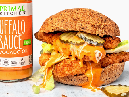 Spicy Chicken Sandwich (Keto Friendly)