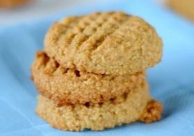 Keto Friendly Almond Flour Peanut Butter Cookies