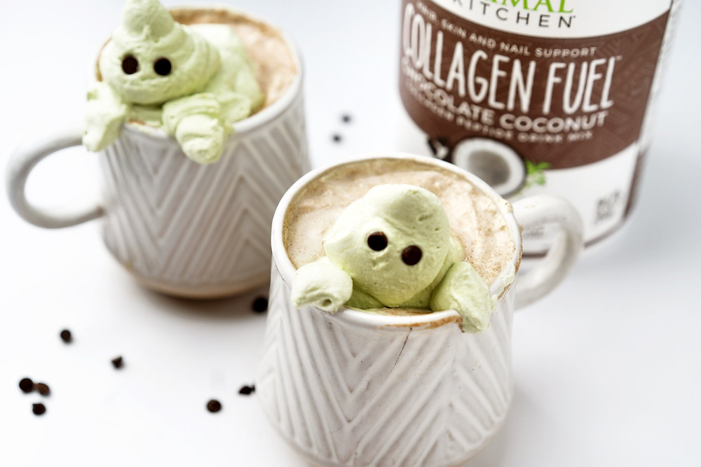 Keto Halloween treats for ketogenic diet season beverages and collagen fuel
