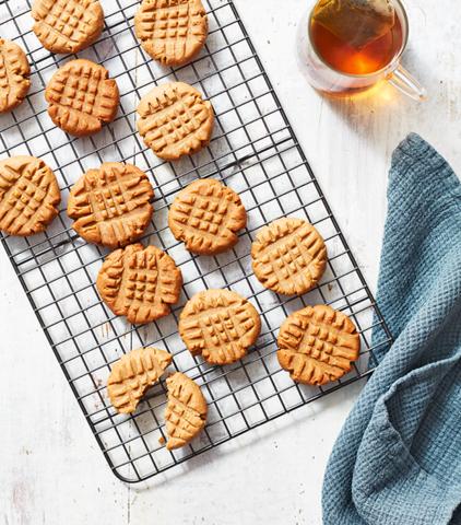 Keto Peanut butter cookies ketogenic snack recipes