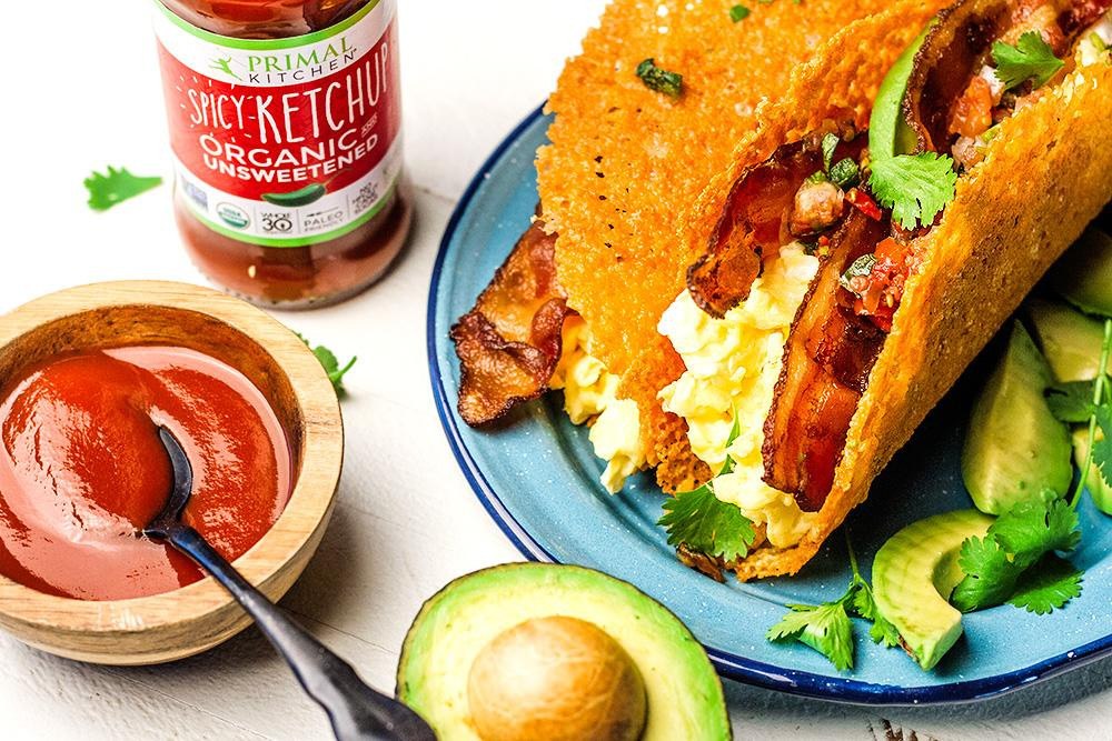 Primal Kitchen recipes with ketogenic spicy ketchup