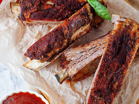 Easy Low Carb BBQ Ribs