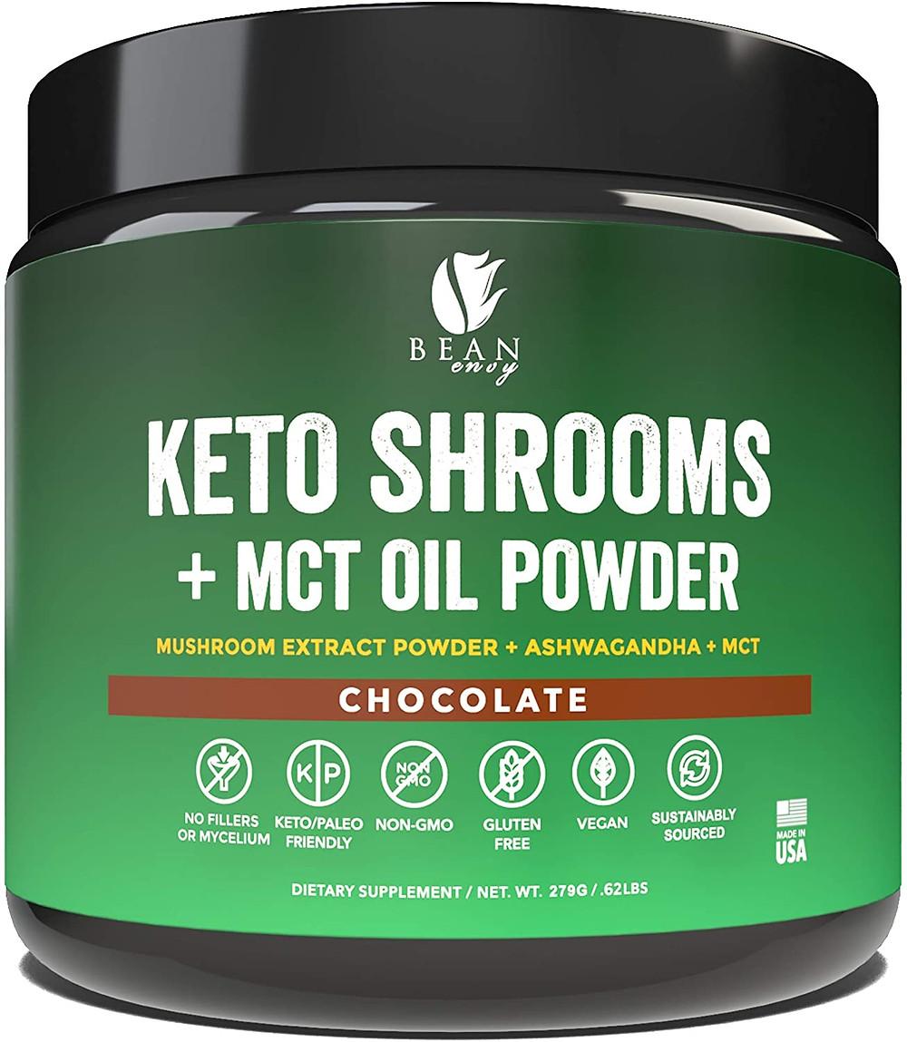 Keto Shrooms plus MCT Oil Chocolate superfood