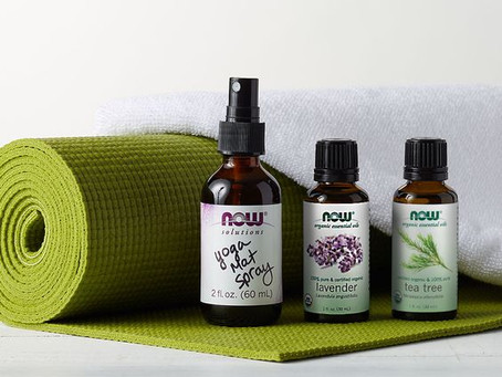 Yoga Mat Spray Recipes