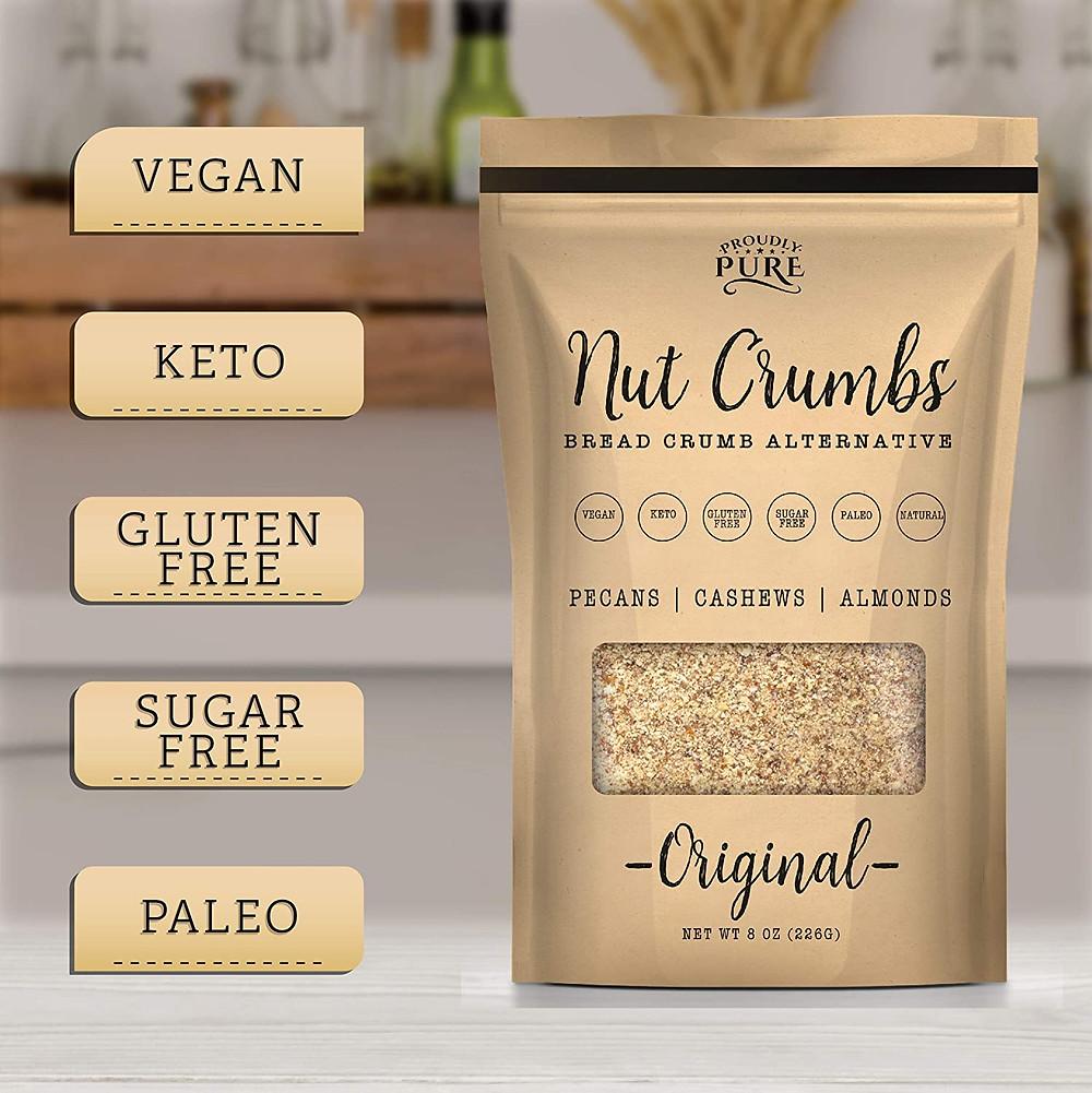 Keto friendly bread crumb alternative ketogenic recipes and keto diet foods