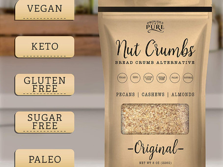 Keto Friendly Bread Crumb Alternative