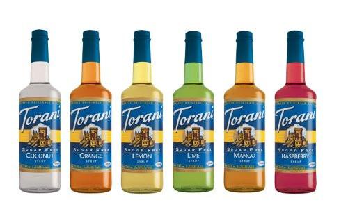 Keto Friendly tropical beverages sugar free diabetic friendly syrups by Torani