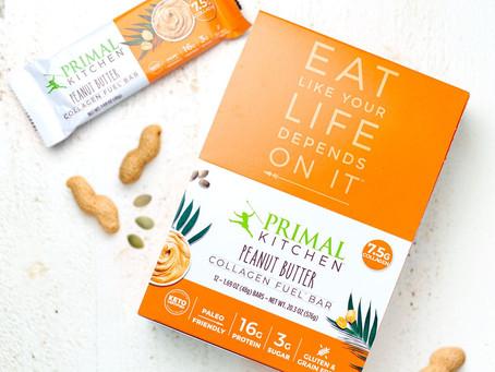 Peanut Butter Collagen Fuel Bars