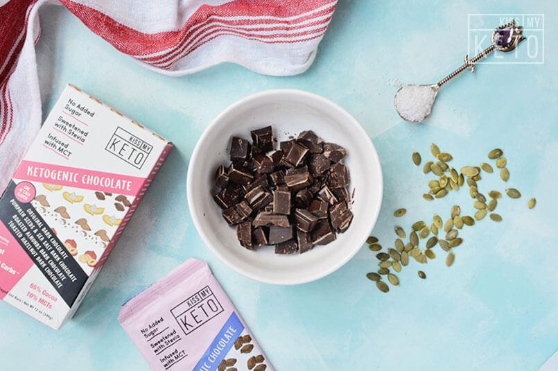 Keto friendly chocolate candy ketogenic low carb sugar free zero carbs keto diet