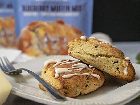 Keto Blueberry Muffin Mix