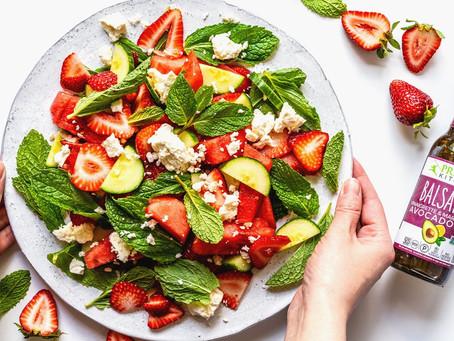 Strawberry, Mint & Watermelon Salad
