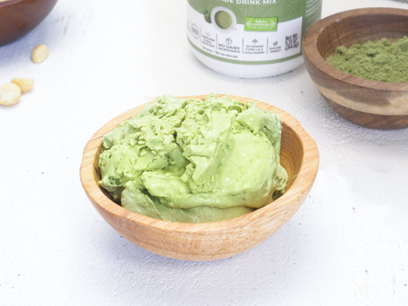 Dairy Free Matcha Ice Cream