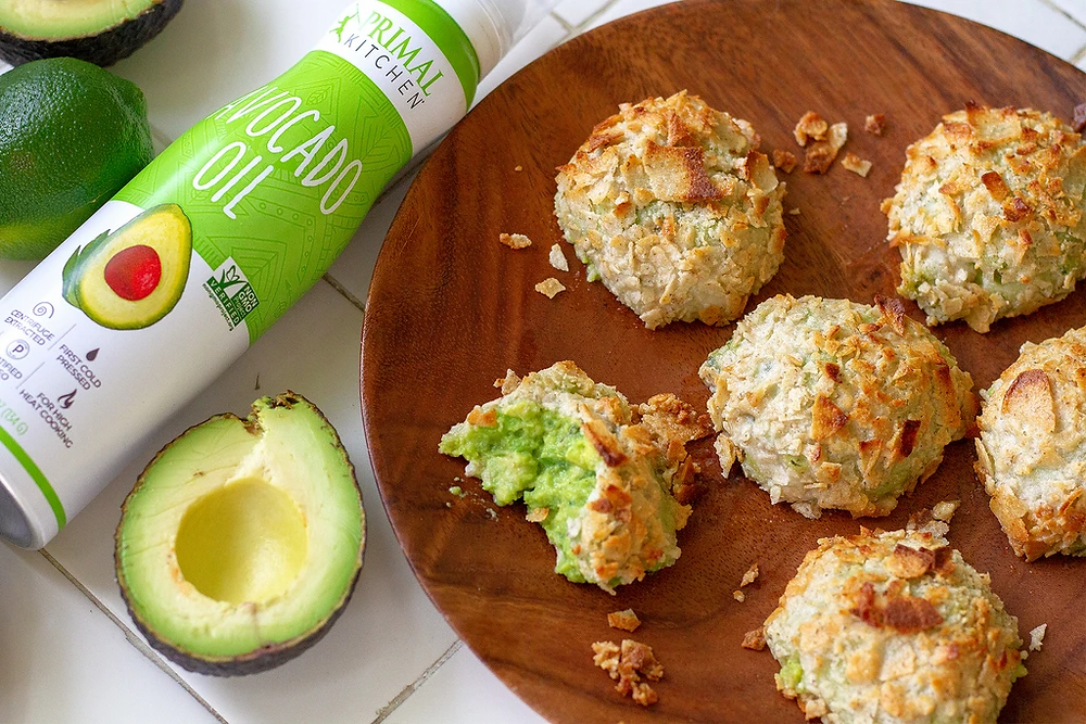 Primal Kitchen Air Fryer Avocado Recipe Use Coupon Code GETPRIMAL for keto friendly products