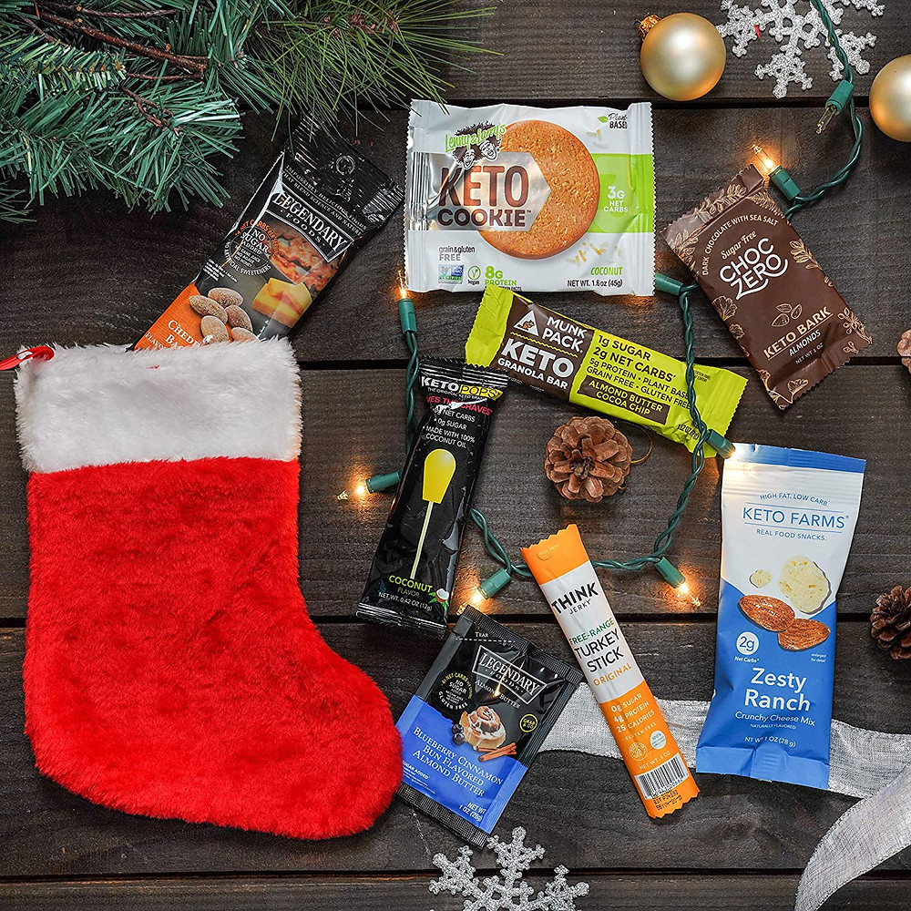 Ketogenic gift ideas for keto dieters holiday gifts stocking stuffer ideas for keto