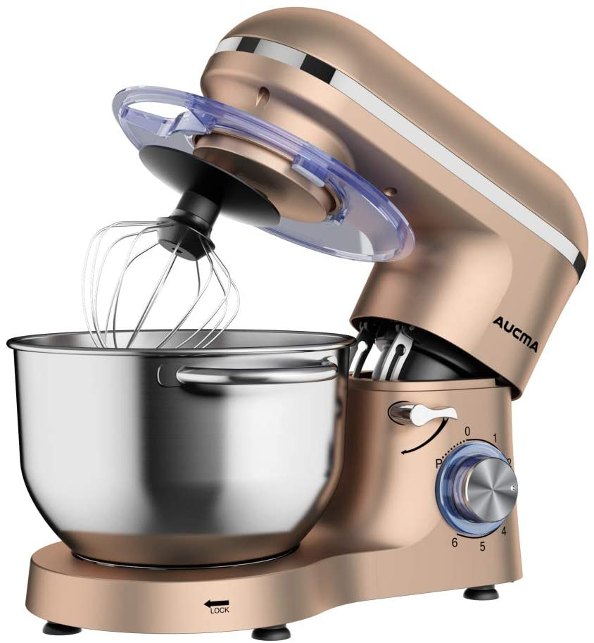 Healthy Life Selections recommends Aucma Stand Electric Mixer,