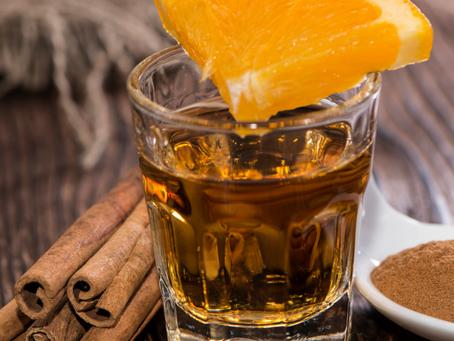 Keto Cinnamon Tequila Sour Cocktail