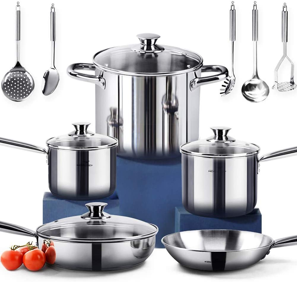 Healthy Eco Friendly Cookware Set Special
