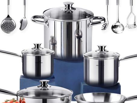 Non-Toxic Eco Friendly Cookware Set