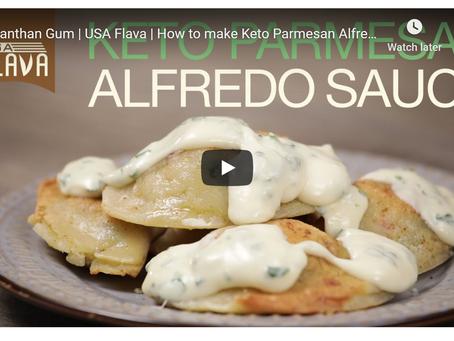 Keto Parmesan Alfredo Sauce