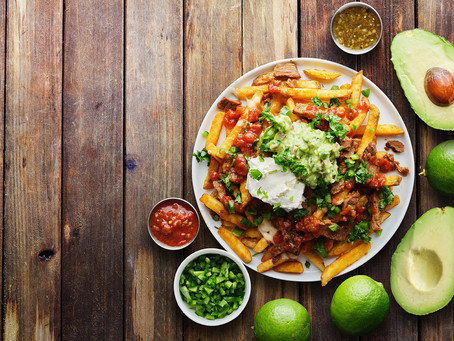 Mexican Fries with Guacamole